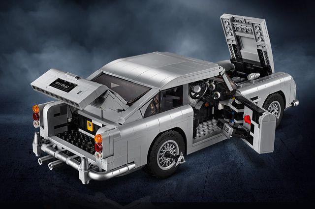 Lego vient de dévoiler l'Aston Martin DB5 de James Bond !