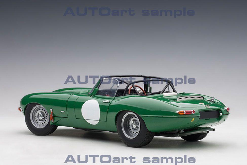 1/18 : La prestigieuse Jaguar Type E Lightweight d'AutoArt en met plein les yeux