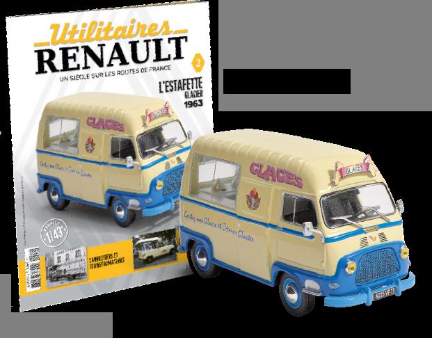 Hachette lance la collection Utilitaires Renault