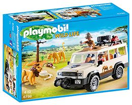 6798 Playmobil Aventuriers Lions