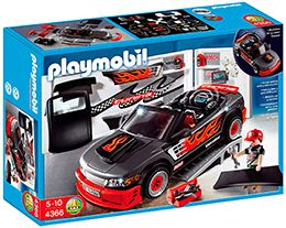 4366 Playmobil voiture tuning