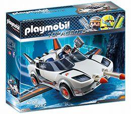 9252 Playmobil Voiture agent secret