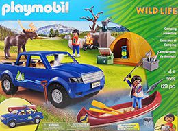 5669 Playmobil pick up Wild life Camping Adventure
