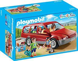 9421 Playmobil voiture familiale