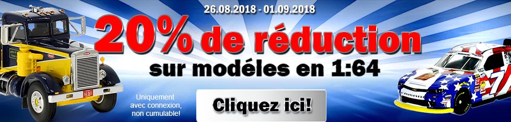Modelcarworld : 20% de réduction sur les miniatures 1/64