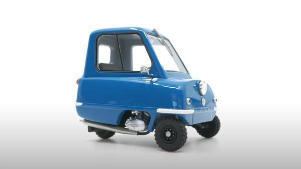 1/18 : DNA Collectibles s'attèle à la Peel P50, la plus petite voiture du monde !