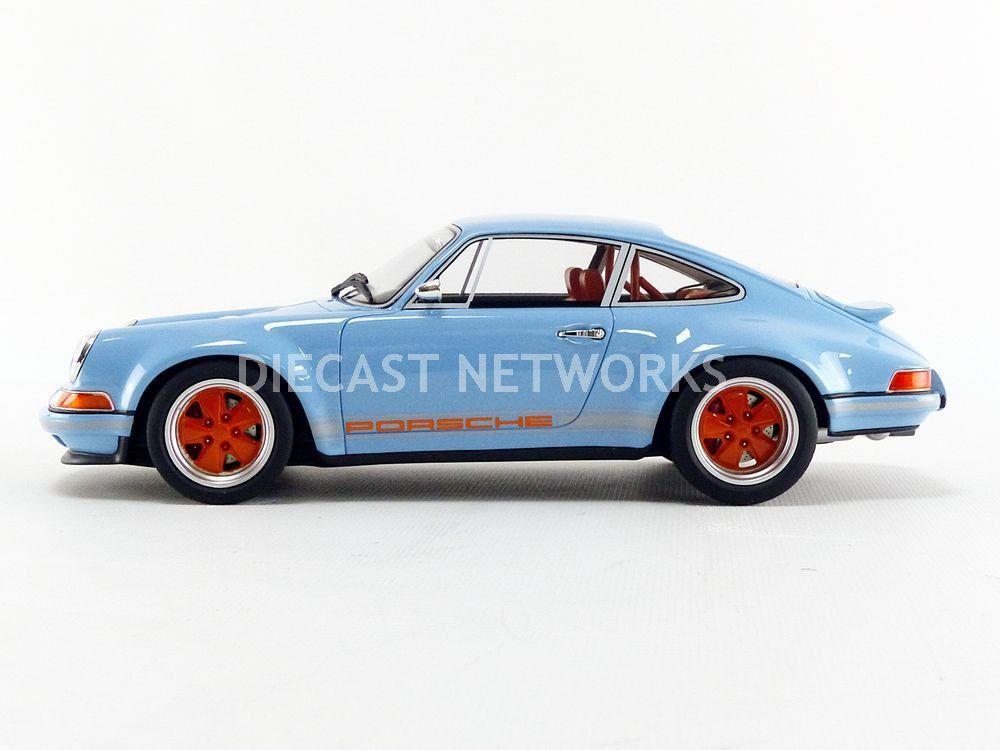 1/18 : La Singer Dubai également miniaturisée, une Porsche néo-rétro