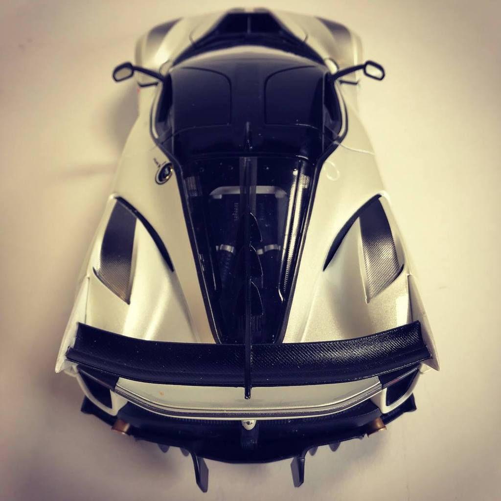 1/18 : La Ferrari FXX-K Evo de Bburago
