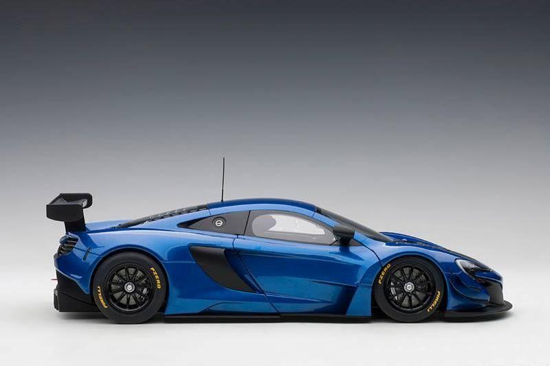 1/18 : la McLaren 650S GT3 d'AutoArt envoie du lourd