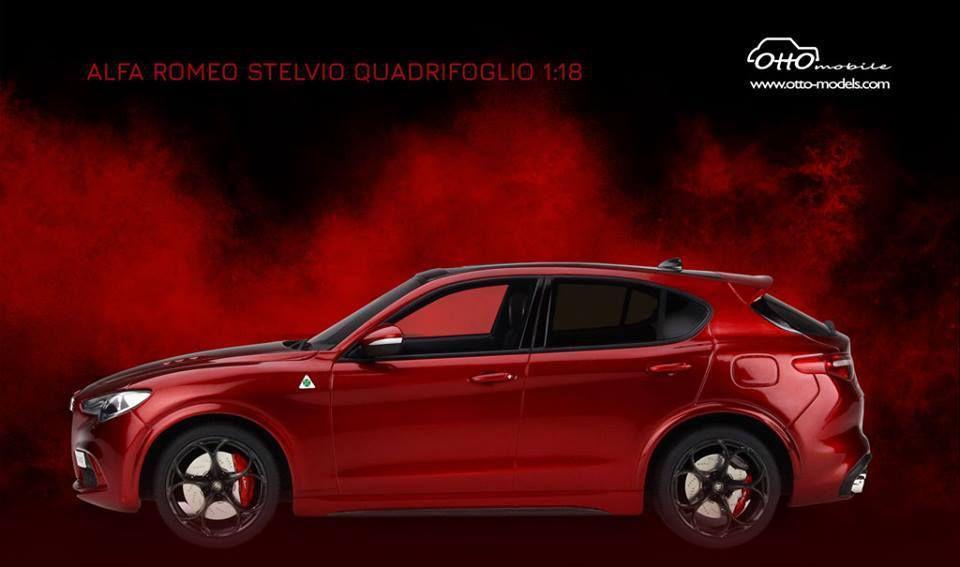 1/18 : L'Alfa Romeo Stelvio QV arrive chez Ottomobile