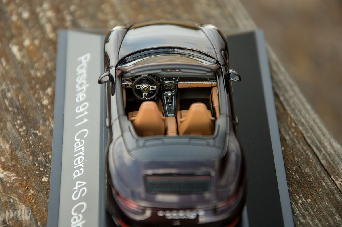 1/43 Porsche 911 (991) Carrera 4S cabriolet, Herpa (HER071079)