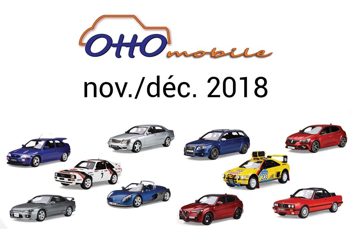 Ottomobile : les précommandes de novembre et décembre sont ouvertes