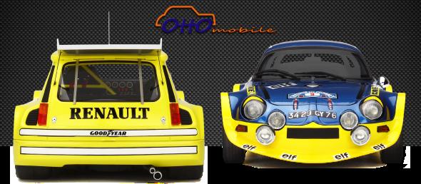 1/18 : 6 nouvelles Ottomobile en vente aujourd'hui
