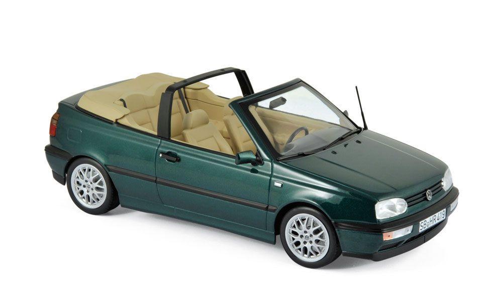 1/18 : la Volkswagen Golf 3 Cab de Norev à prix adouci !