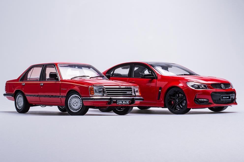 1/18 : Un duo d'Holden Commodore, ça vous tente ?
