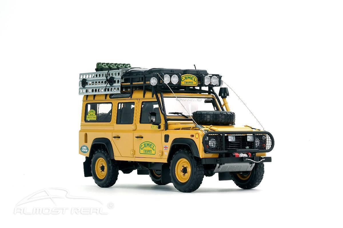 1/18 : Le somptueux Land Rover Defender Camel Trophy d'Almost Real