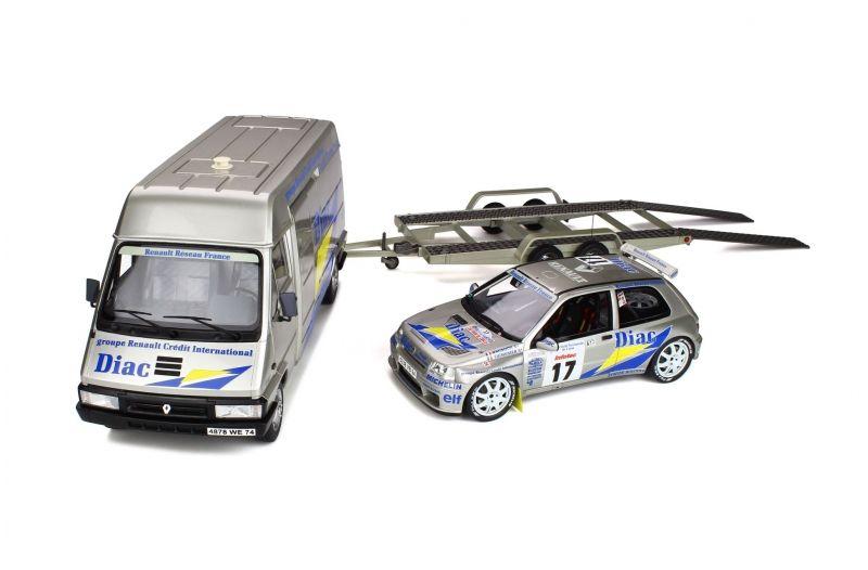 1/18 : Le tant-attendu pack Rallye Tour de Corse Ottomobile... déjà en rupture de stock