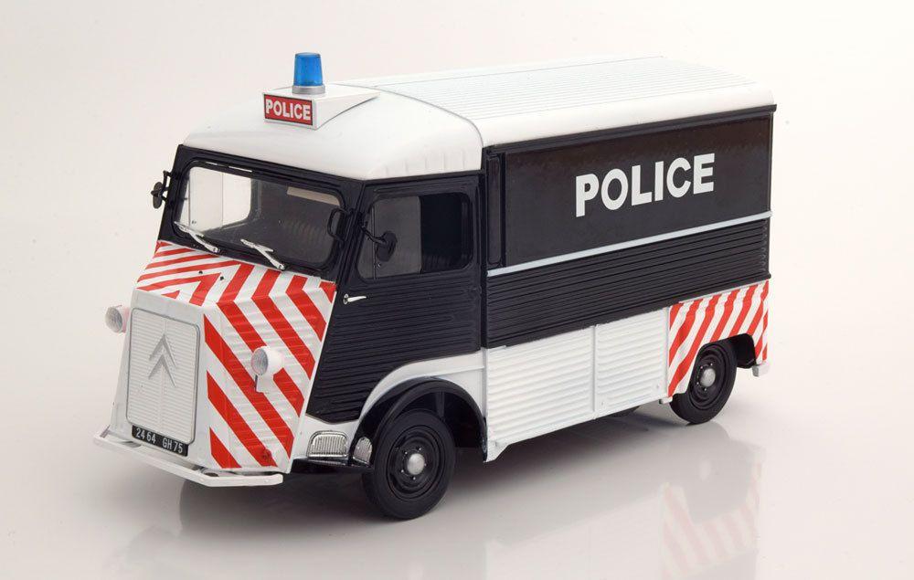 1/18 : Solido a sorti le Citroën HY en version Police