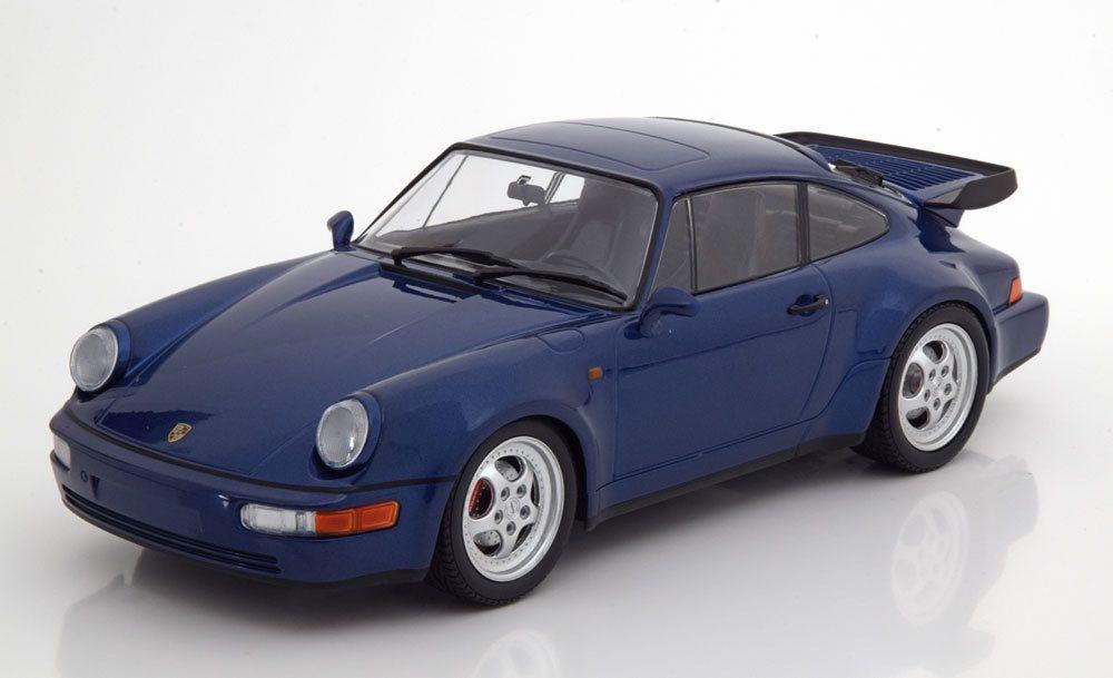 1/18 : La Porsche 911 (964) Turbo réalisée par Minichamps