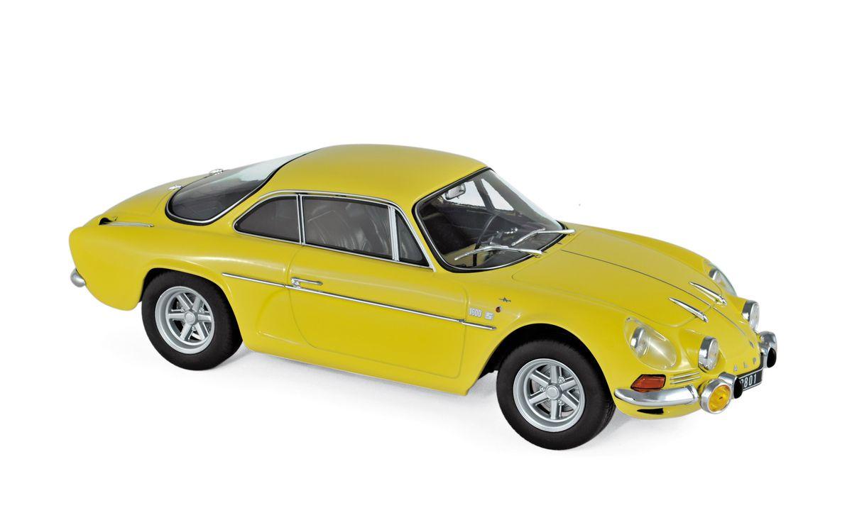 1/18 : Une Alpine A110 jaune en édition limitée chez Norev