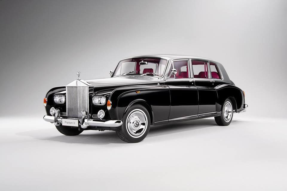 1/18 : Une nouvelle couleur pour la Rolls Royce Phantom VI Kyosho