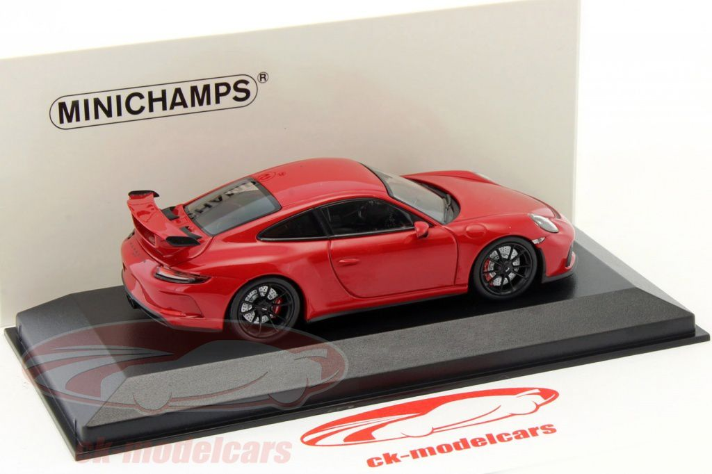 1/43 : La dernière Porsche 911 (991.2) GT3 de Minichamps à moins de 30 € !