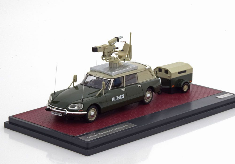 La Citroën ID break Safari de la BBC enfin miniaturisée
