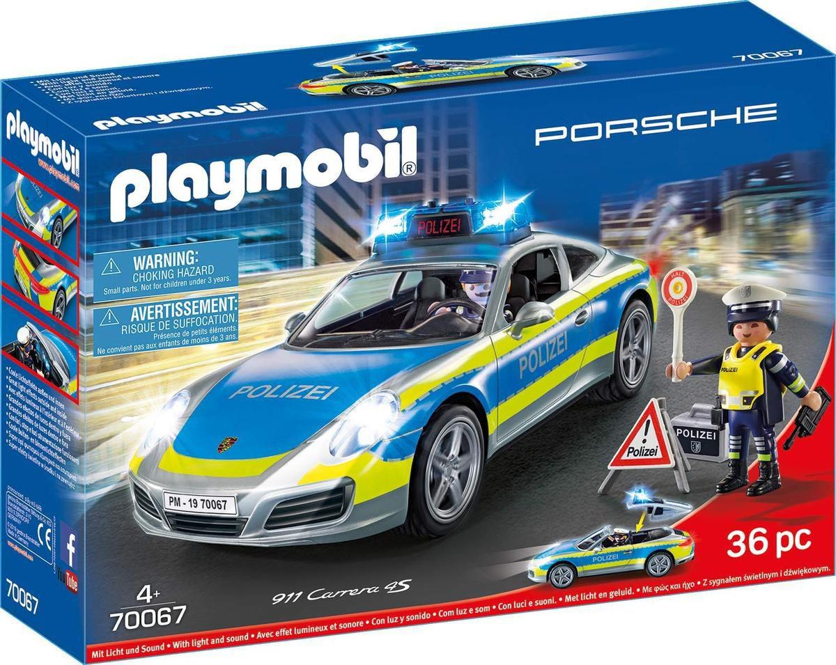 Playmobil : une Porsche 911 Carrera 4S de Police