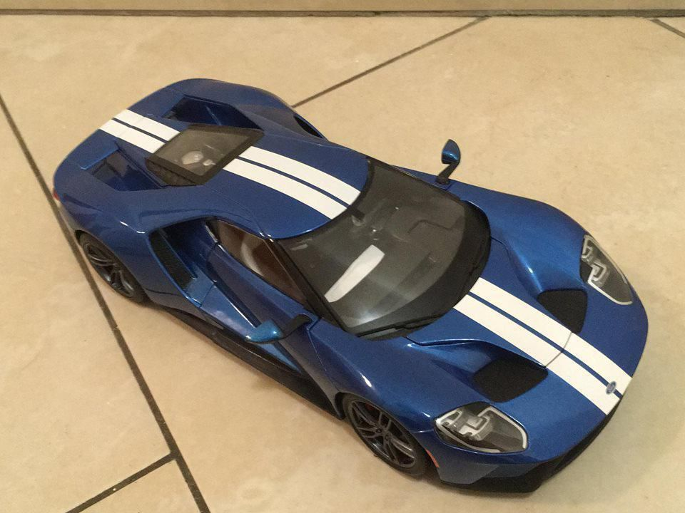 1/18 Ford GT 2017, Maisto (31384B)