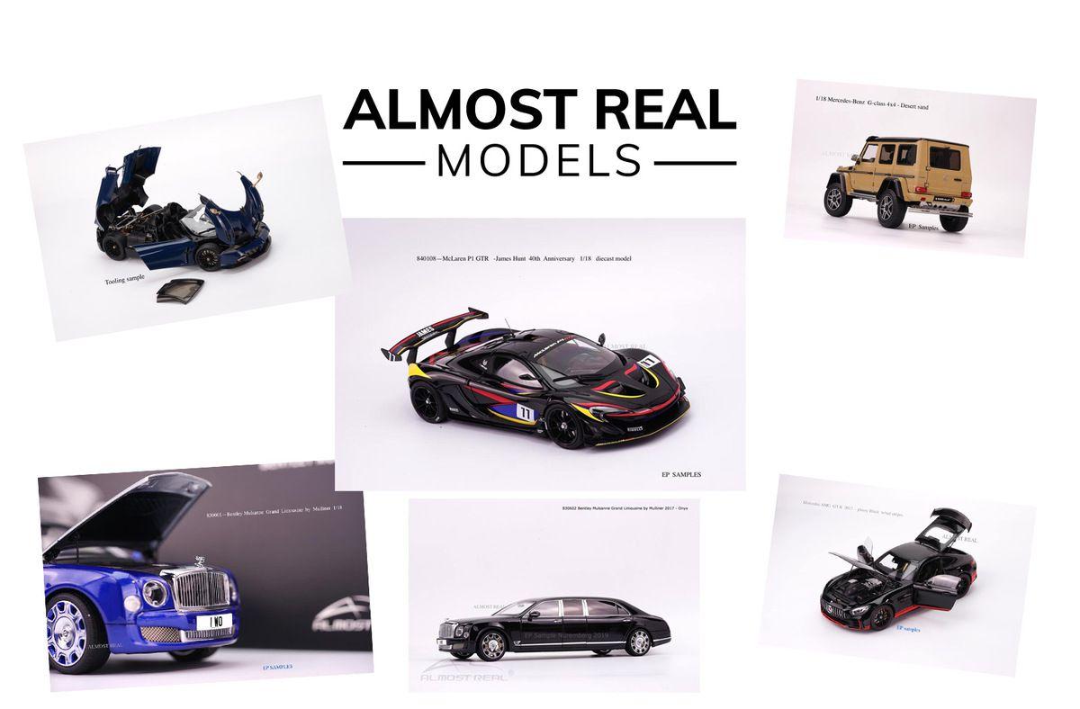 1/18 : Six modèles Almost Real à retrouver au salon de Nuremberg