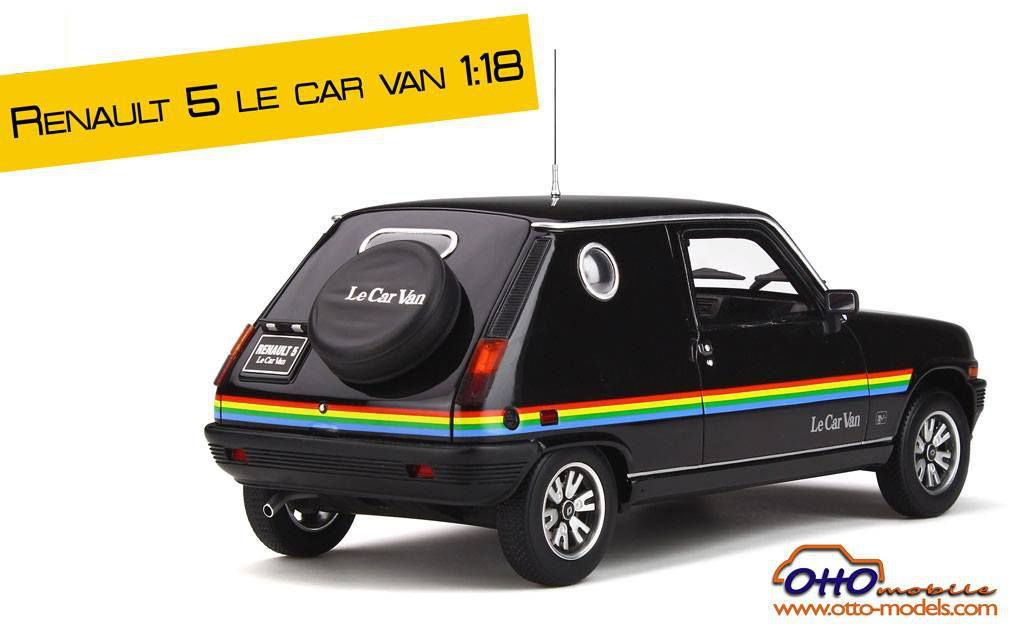 1/18 : La Renault 5 Le Car Van arrive chez Ottomobile