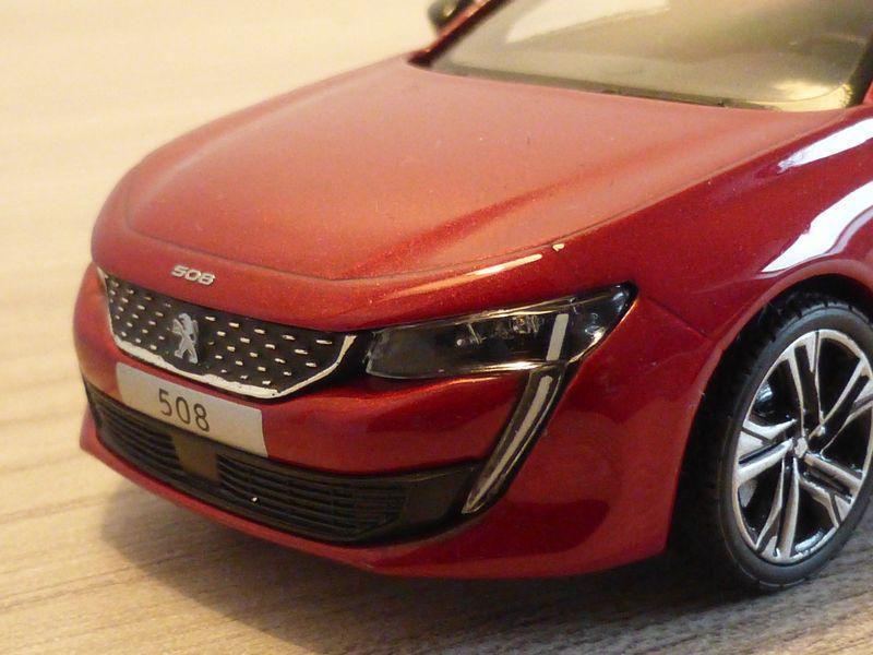 1/43 Peugeot 508 GT, Norev (475820)