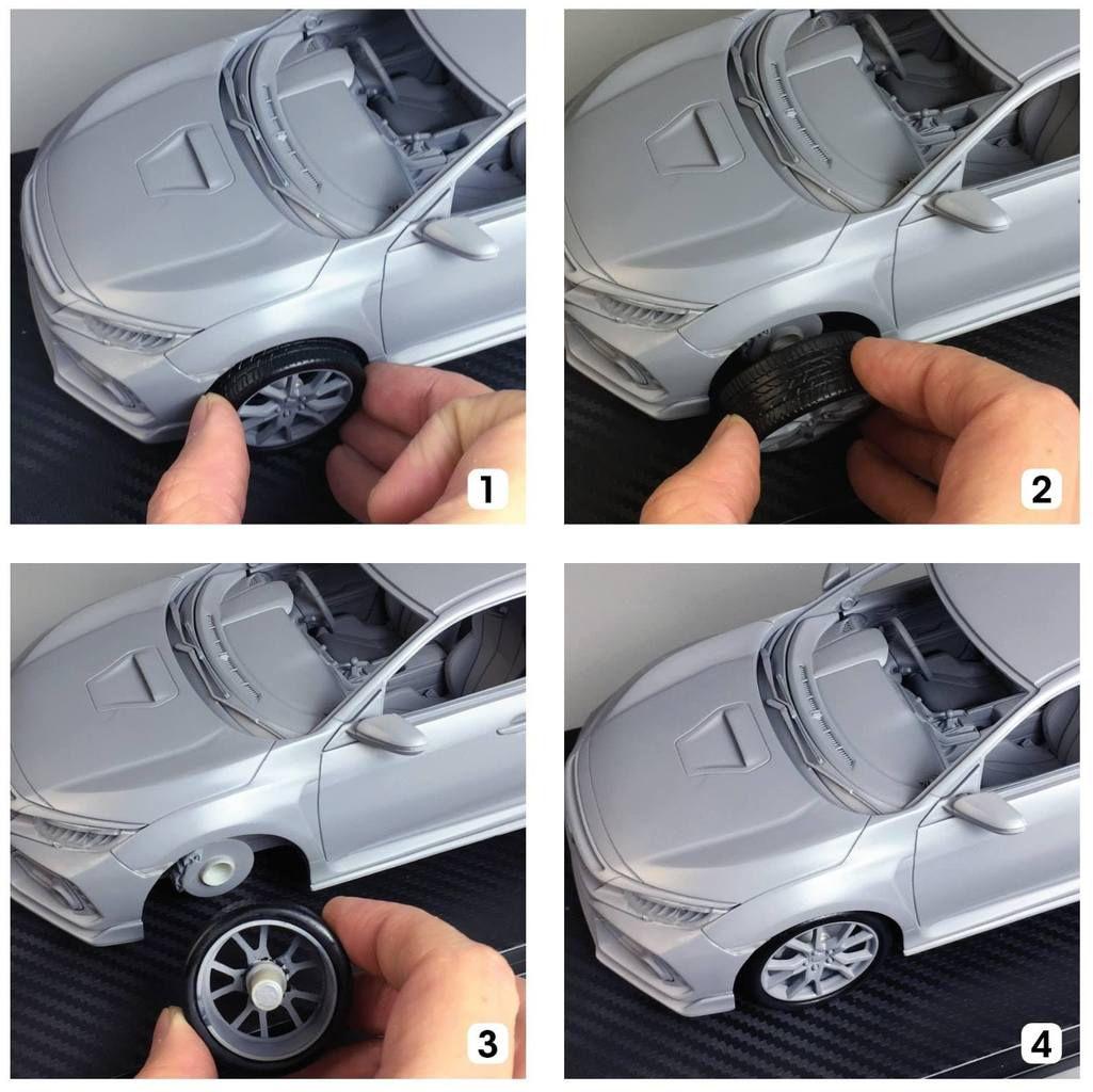 One Model travaille sur des roues aimantées