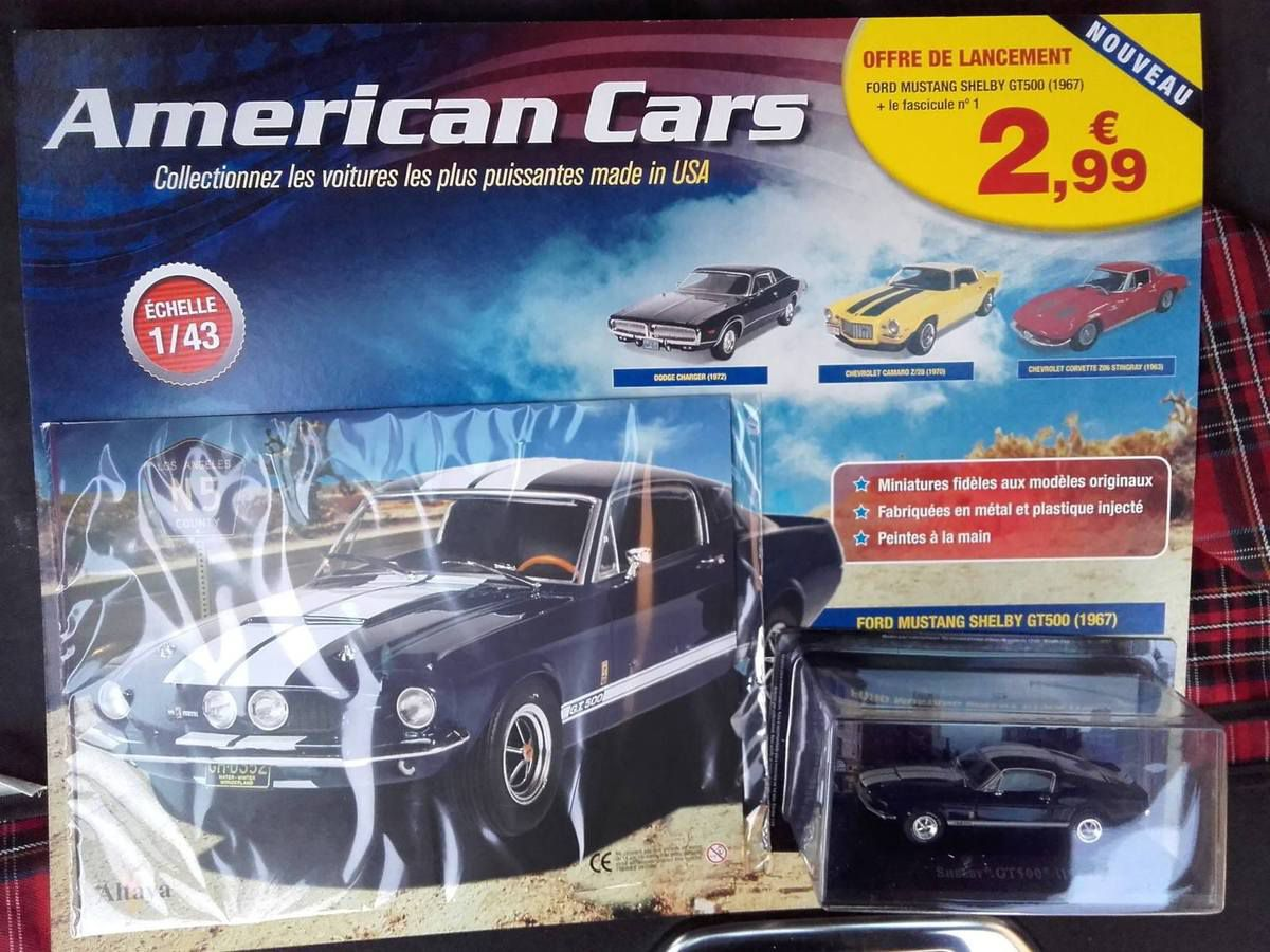 Altaya : American Cars, collectionnez les voitures les plus puissantes made in USA