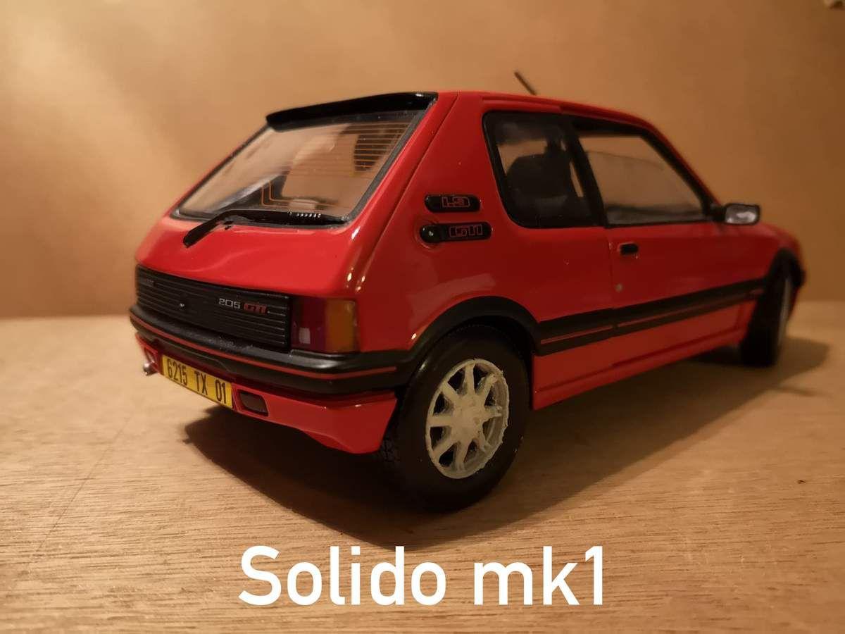 Otto, Norev, Solido : qui a réalisé la plus belle Peugeot 205 ?