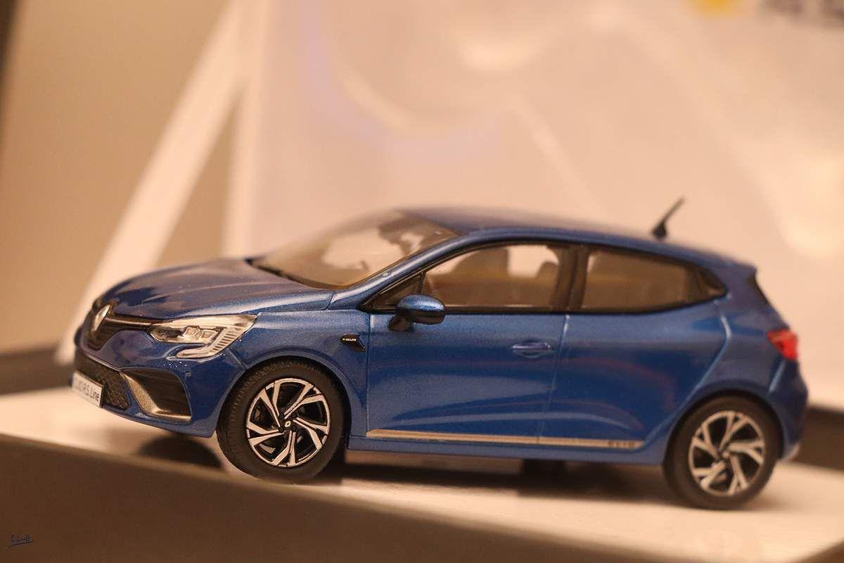 1/43 : La Renault Clio 5 déjà miniaturisée !
