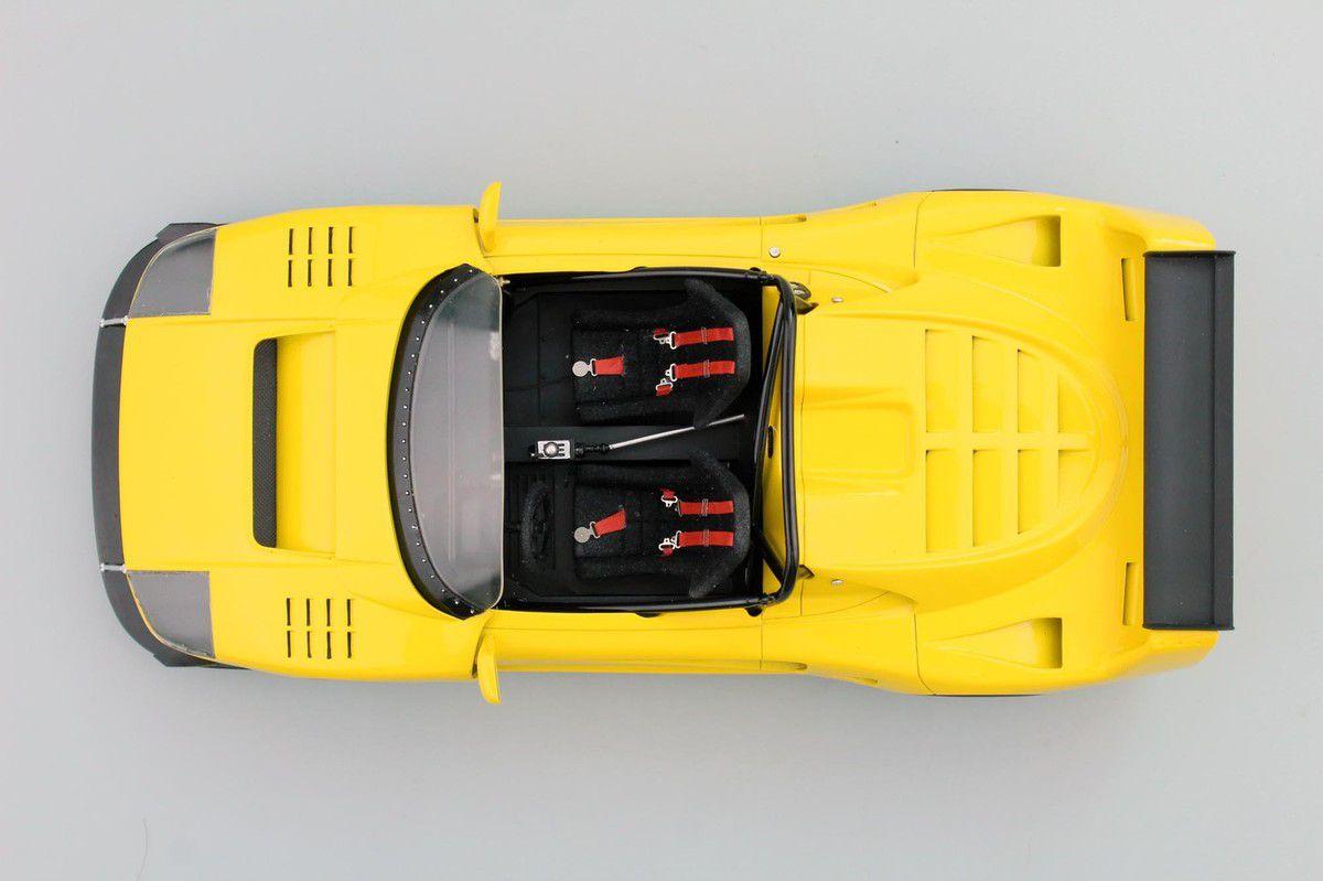 1/18 : La surprenante Ferrari F40 LM Barchetta arrive en miniature