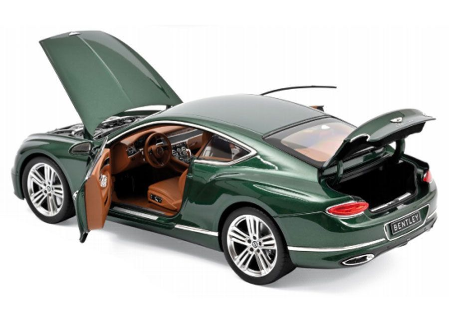 1/18 : La Bentley Continental GT 2018 arrivera chez Norev