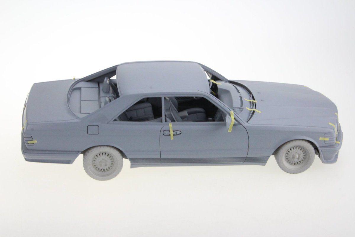 1/18 : LS Collectibles vient d'annoncer la Mercedes 560 SEC Lorinser