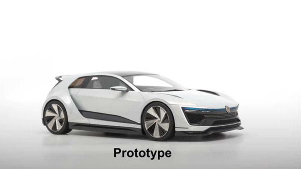 1/18 : DNA ouvre les précommandes de la Volkswagen Golf GTE Sport Concept