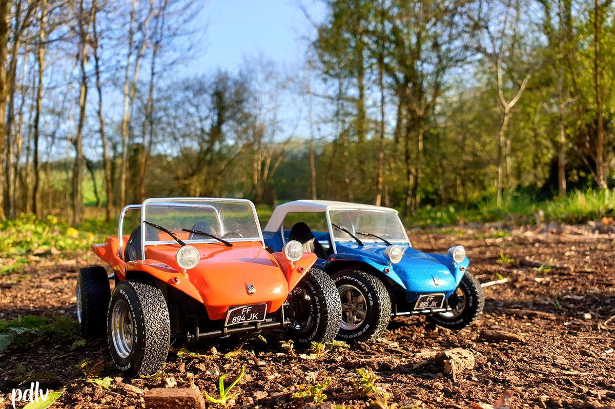 1/18 Buggy Meyers Manx, Solido (S1802701 et S1802702)
