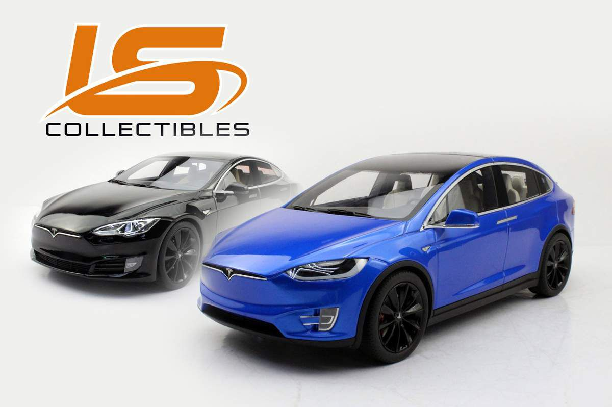 1/18 : LS Collectibles décline ses Tesla Model S et X