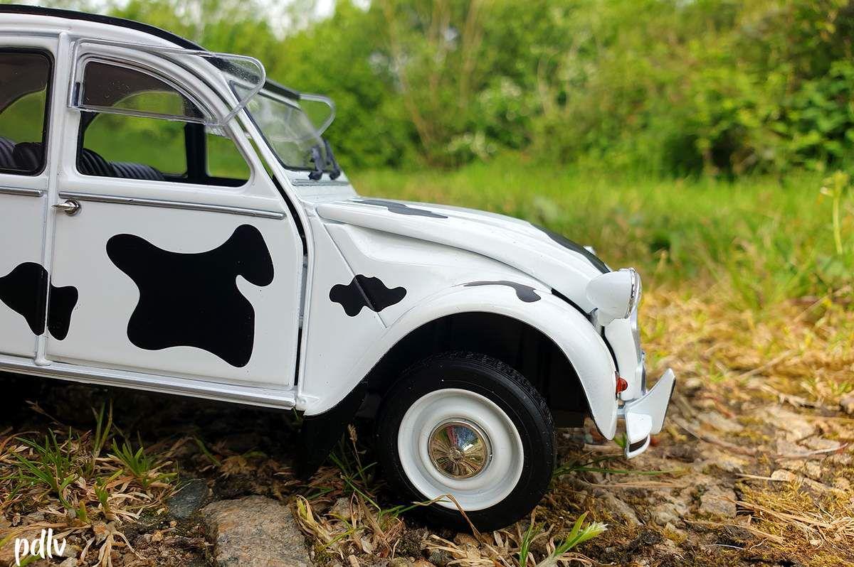 1/18 Citroën 2CV 6 Vache, Solido (S1850028)