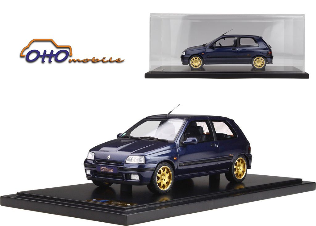 1/18 : Dix ans plus tard, Ottomobile ressort la Clio Williams