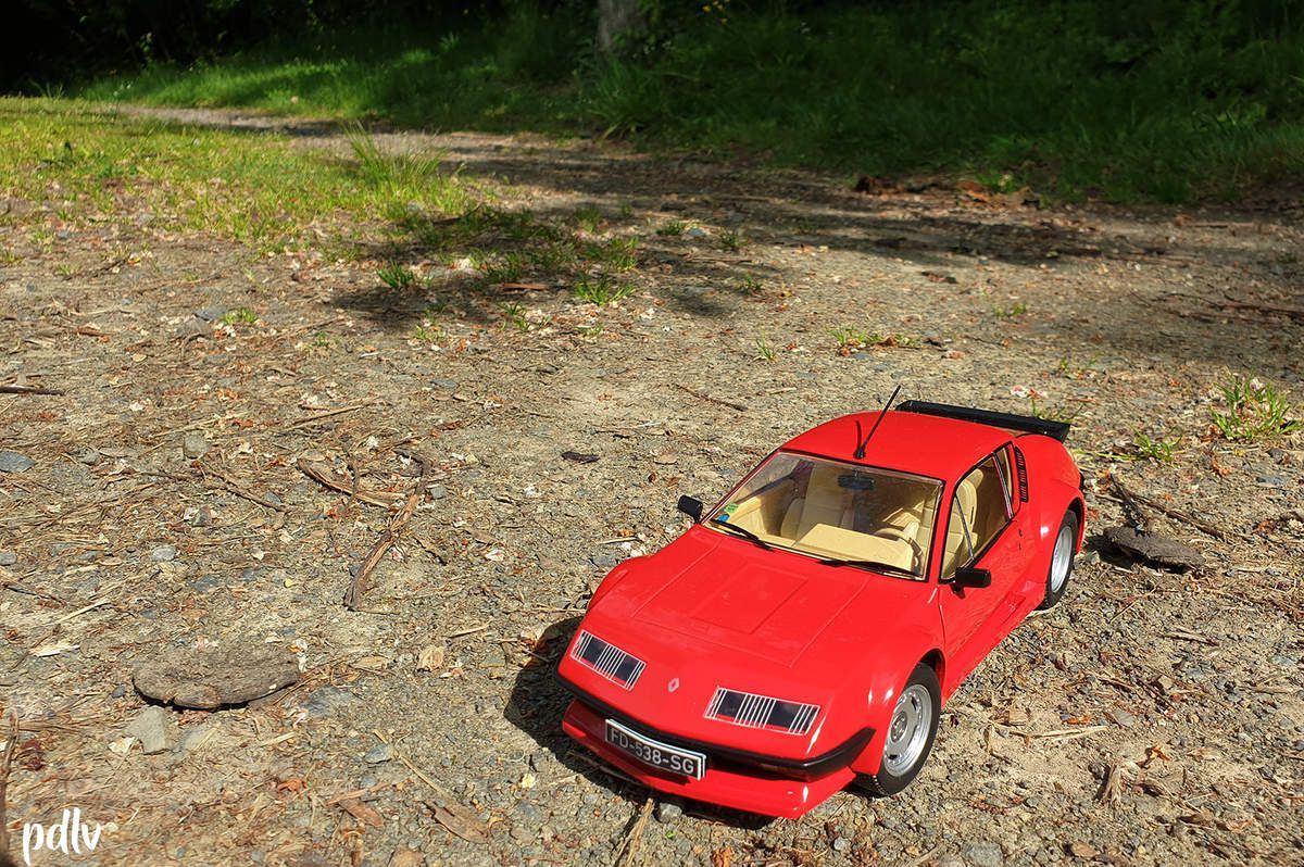 1/18 Alpine A310 Pack GT, Solido (S1801202)