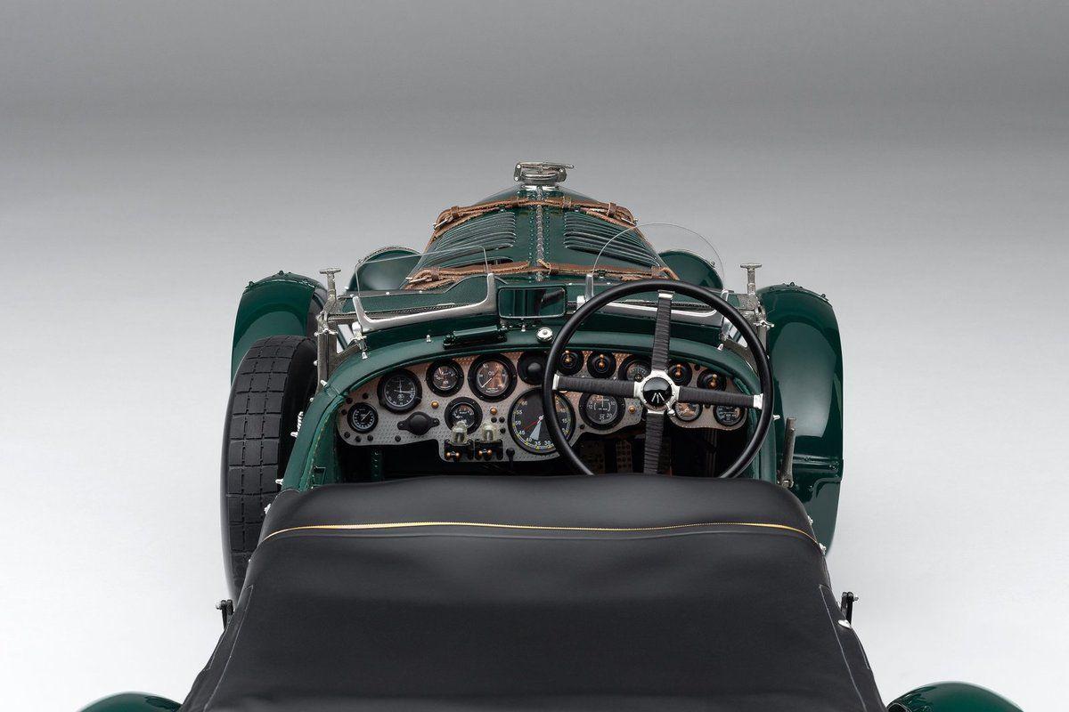 1/8 : La somptueuse Bentley Blower de 1929 débarque chez Amalgam