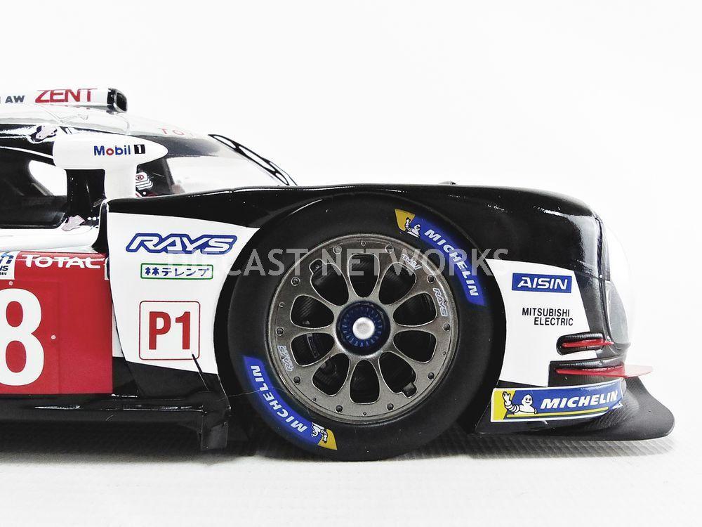 1/18 : La Toyota TS050 victorieuse au Mans en 2018 miniaturisée