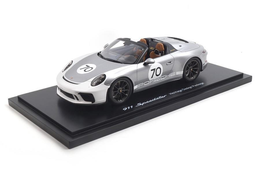 1/18 Porsche 911 (991) Speedster, WAP0211950K - Heritage Package - silver - 325€