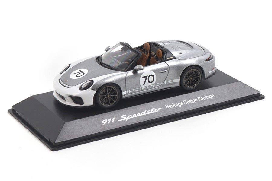 1/43 Porsche 911 (991) Speedster, WAP0201940K - Heritage Package - silber - 75€
