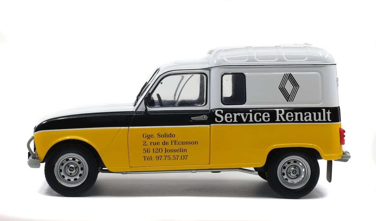 1/18 : la Renault 4L F4 débarque chez Solido